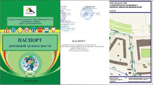 паспорт дорожной безопасности школы 2015 образец - фото 7